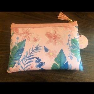 Handbags - Floral makeup pouch
